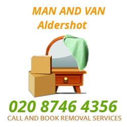 moving home van Aldershot