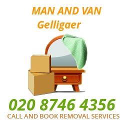 moving home van Gelligaer