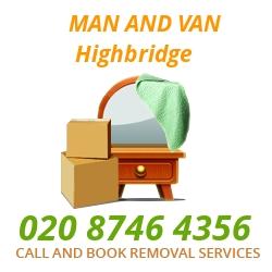 moving home van Highbridge