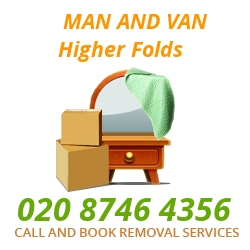 moving home van Higher Folds