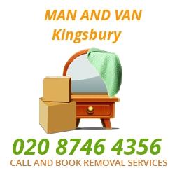 moving home van Kingsbury