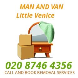 moving home van Little Venice