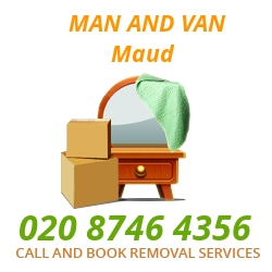 moving home van Maud