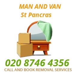 moving home van St Pancras
