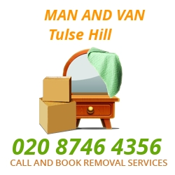 moving home van Tulse Hill