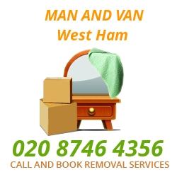 moving home van West Ham