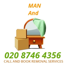 moving home van Almondsbury