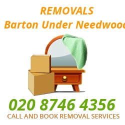 furniture removals Barton-under-Needwood