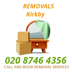 furniture removals Kirkby