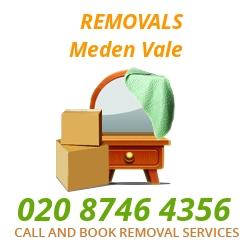 furniture removals Meden Vale