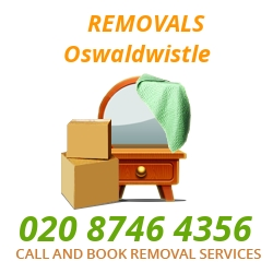 furniture removals Oswaldwistle