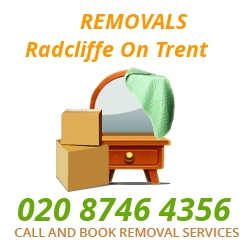 furniture removals Radcliffe on Trent