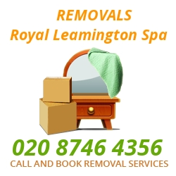 furniture removals Royal Leamington Spa
