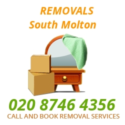 furniture removals South Molton