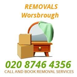 furniture removals Worsbrough
